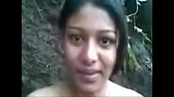 Beautiful indian girl working as partime callgirl in forest