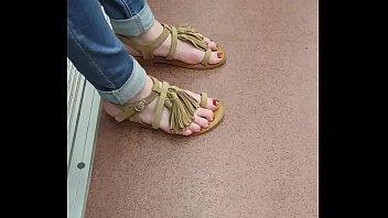 sexy teenage feet