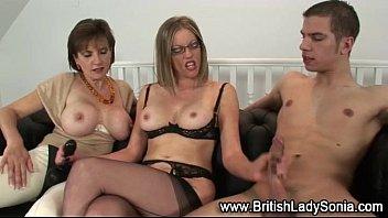 mature brit chick dom ffm pummel.