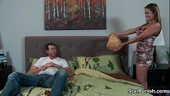 stud ravages his gorgeous babe039_s booty on the couch-part-01