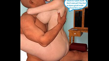three dimensional comic cheating wifey gets grubby with.