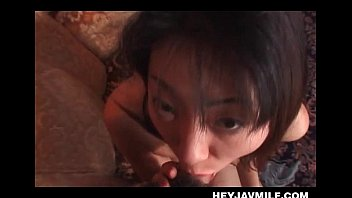 japanese fucky-fucky junkie cougar licking rock-hard lollipop with eagerness