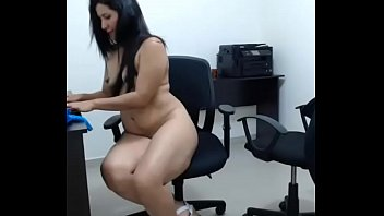 supreme donk latina faps on a tabouret  office