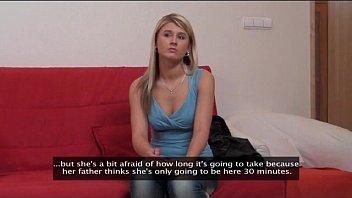 Blonde babe gets her ass jizzed video