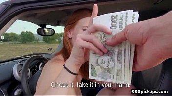 Amateur Euro Slut Suck Dick For Cash In Open Street 23