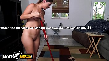 BANGBROS - Shy Latina Maid Camila Casey Strips Nude And Gets Figgity Wiggity Fucked