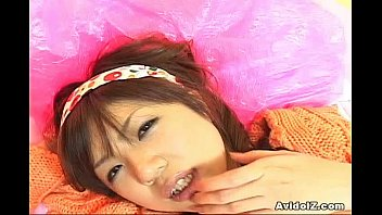 neat-shaven twat teenie rika hayama gives head and.