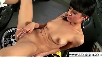 ultra-kinky alone woman lily have fun till ejaculation.
