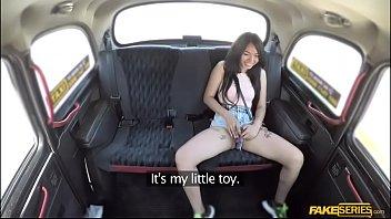 Exotic asian teen Jureka del mar fucks hard in the backseat