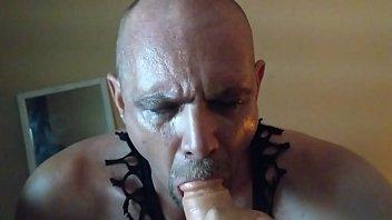 slutboy inhales ebony stiff-on