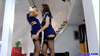 British milf masturbating while in uniform