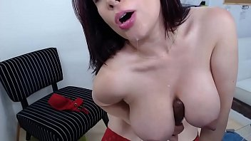 Busty Sexy Milf masturbates with huge dildo - See more at VenusX.webcam