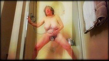 mature chick adrift in sexual dream.