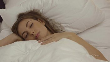 connie carter waking up to ejaculation