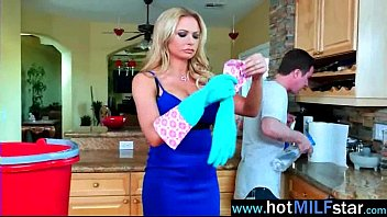 briana banks jaw-dropping cougar active railing immense firm-on.