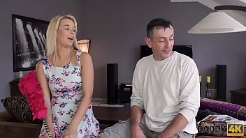 DADDY4K. Very bad dad with gf of his son