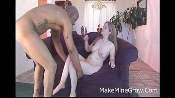 Haley Scott - Big Tits Blonde Take Black Cock On Her Pink Pussy