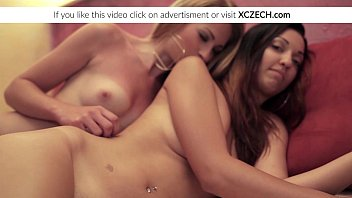 two lesbo nymphs eating poons