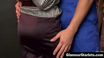 wonderful classy stunner in pantyhose