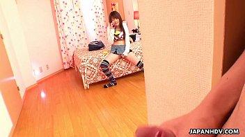 japanese doll having smartphone hump