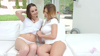 Ayda Swinger and Liza Shay in lesbian lovemaking from Sapphic Erotica