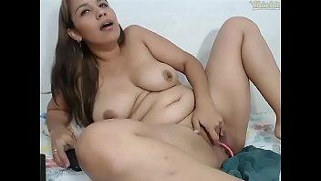 se masturba la chichona