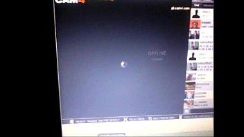 corno mostrando sua mulher na webcam