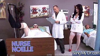 insatiable patient noelle easton get fuck-a-thon treat from.