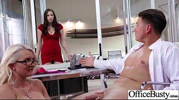 Slut Hot Girl (gigi allens) With Big Boobs Enjoy Nailed Hard In Office vid-13
