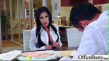 Office Sluty Girl (Shay Evans) With Big Round Boobs Banged Hard video-29