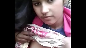 Cute beautiful Indian desi girlfriend exposed and captured nude in forest by BF