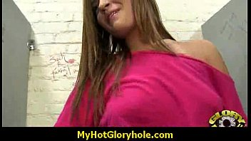 youthfull milky sweetie inhales at gloryhole.