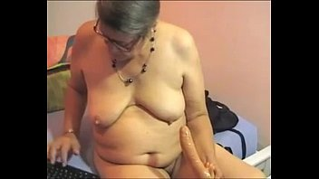 hairy bbw granny plays on cam- XPORNPLEASE.COM