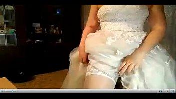 bride gets pummeled