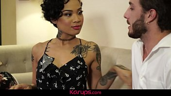 Karups - Tattooed Babe Honey Gold Gets Fucked For Being Bad