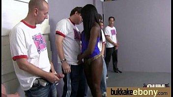 double intrusion with german dark-hued mass ejaculation teenie four