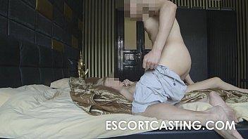 Skinny Blonde Teen Escort Anal Casting