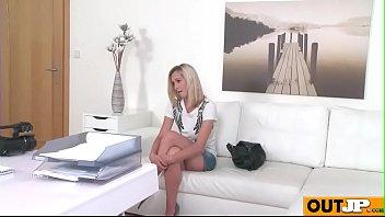 Skinny Model Fucked on Office Desk(Nela Angel) 03 video-17